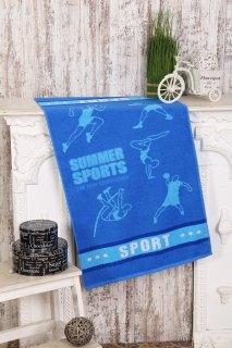 Купить Полотенце махровое Летний спорт 056000451 в розницу
