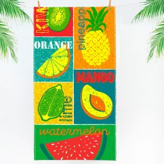 Купить Полотенце пляжное вафельное 060400059 в розницу