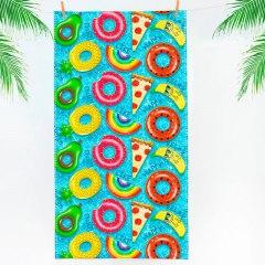 Купить Полотенце пляжное вафельное 060400060 в розницу