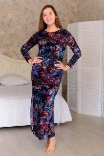 Купить Платье женское из иконвелюра 065100970 в розницу