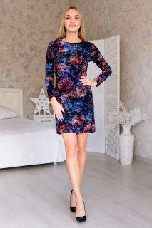 Купить Платье женское из иконвелюра 065209530 в розницу