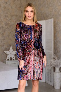 Купить Платье женское из иконвелюра 065209531 в розницу