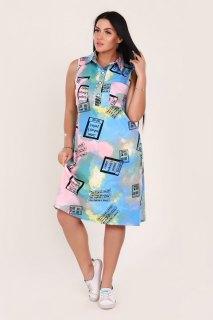 Купить Платье без рукавов 065501495 в розницу