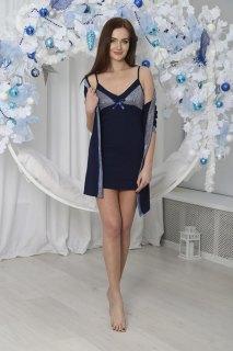 Купить Комплект женский халат+сорочка 071001118 в розницу
