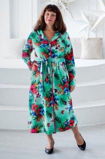 Купить Халат женский из велюра 071001314 в розницу