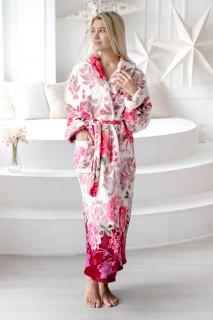Купить Халат женский из велсофта 071001335 в розницу