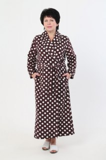 Купить Халат женский из махры 071001392 в розницу