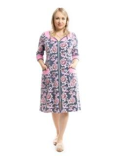 Купить Халат женский из велюра 071001427 в розницу
