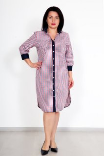 Купить Рубашка-платье 074100234 в розницу