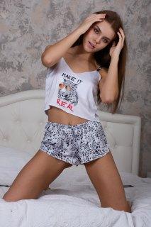 Купить Пижама шелковая 083001024 в розницу