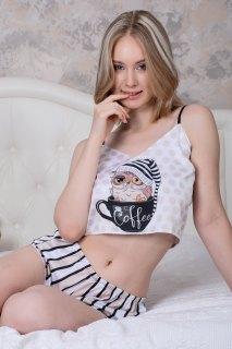 Купить Пижама шелковая 083001026 в розницу