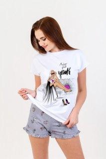 Купить Пижама женская 083001102 в розницу