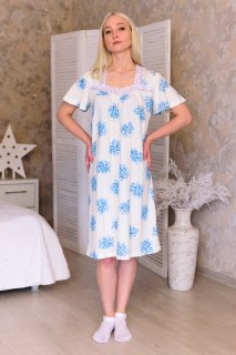 Купить Ночная сорочка из кулирки 083101607 в розницу