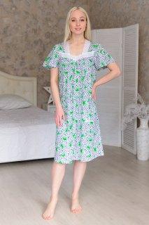 Купить Ночная сорочка из кулирки 083101608 в розницу