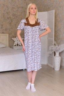 Купить Ночная сорочка из кулирки 083101609 в розницу