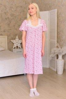 Купить Ночная сорочка из кулирки 083101611 в розницу