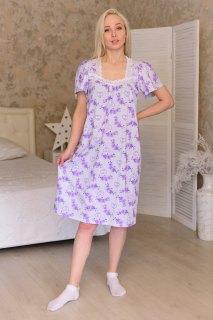 Купить Ночная сорочка из кулирки 083101612 в розницу