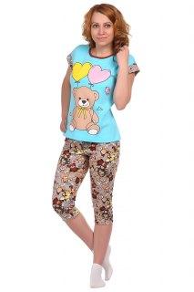 Купить Пижама женская 083201218 в розницу