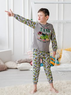 Купить Пижама детская из футера 085700505 в розницу