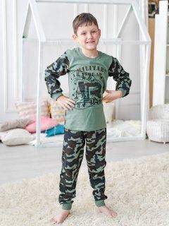 Купить Пижама детская из футера 085700507 в розницу