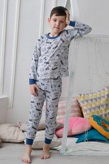 Купить Пижама детская из кулирки 085700508 в розницу