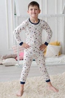 Купить Пижама детская из футера 085700509 в розницу
