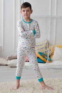 Купить Пижама детская из футера 085700510 в розницу