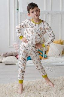 Купить Пижама детская из футера 085700511 в розницу