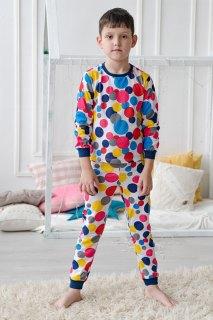 Купить Пижама детская из кулирки 085700512 в розницу