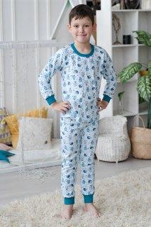 Купить Пижама детская из футера 085700513 в розницу