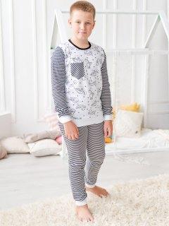 Купить Пижама детская из футера 085700514 в розницу