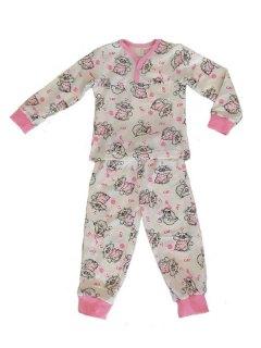 Купить Пижама детская из футера 085700518 в розницу
