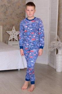 Купить Пижама подростковая из футера с начесом 085700522 в розницу