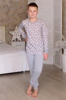 Купить Пижама детская из кулирки 085700523 в розницу