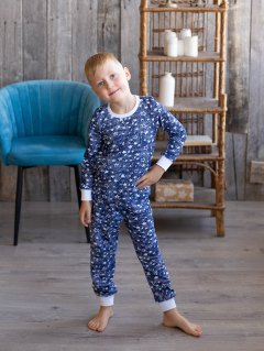 Купить Пижама детская из кулирки 085700545 в розницу