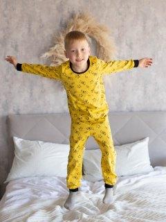 Купить Пижама детская из кулирки 085700547 в розницу