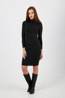 Купить Женское платье – водолазка 087400851 в розницу