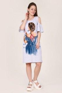 Купить Платье женское 087401129 в розницу