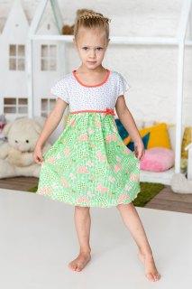 Купить Ночная сорочка детская из кулирки 089900059 в розницу