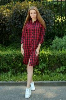 Купить Рубашка-платье  092000044 в розницу