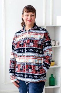 Купить Куртка женская из велюра 093000730 в розницу