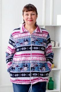 Купить Куртка женская из велюра 093000731 в розницу