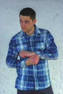 Купить Рубашка мужская 096000320 в розницу