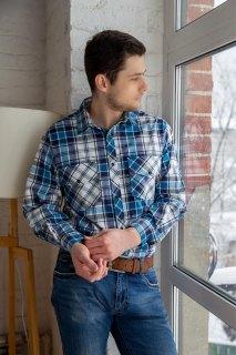 Купить Рубашка мужская 096000326 в розницу
