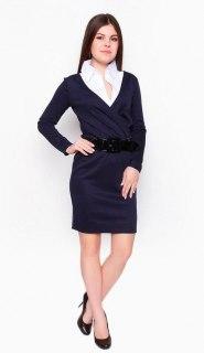 Купить Платье женское + блузка 24133 в розницу