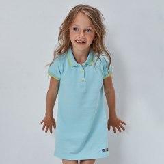 Купить Платье-поло для девочки 267001383 в розницу