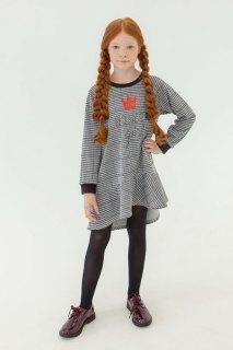 Купить Платье с воланом 267001458 в розницу