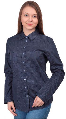 Блузка Темно Синяя В Волгограде