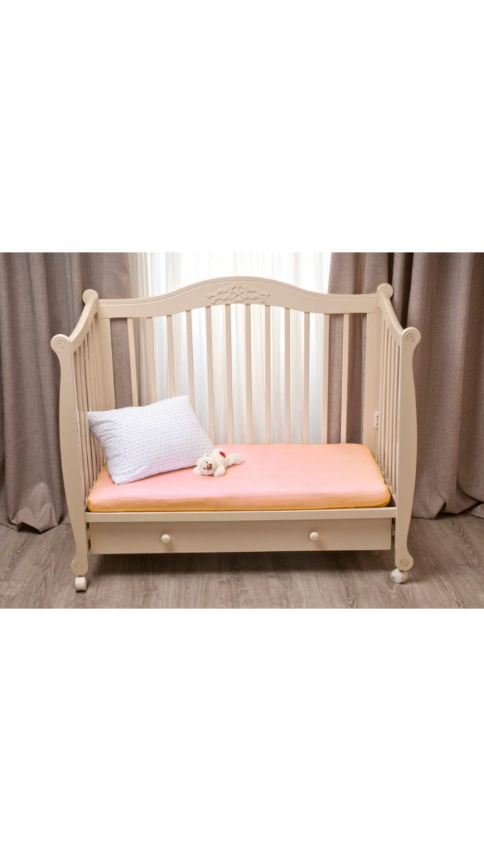 Простыня на резинке в дет. кроватку. Артикул 007100048