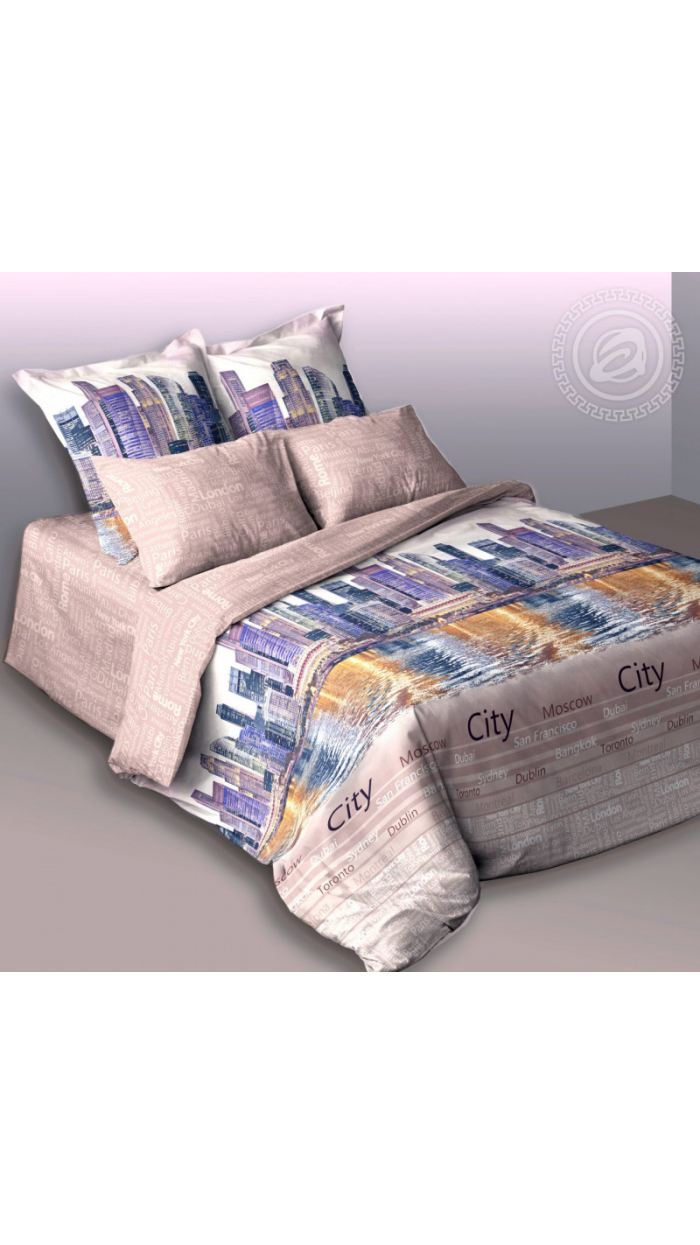 КПБ Сатин Premium 1.5-спальное. Артикул 022500598